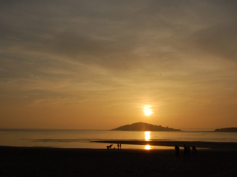 sunset Bantham