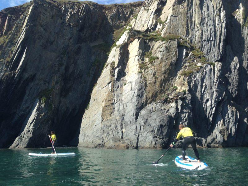 Paddle Boarding Burgh Island