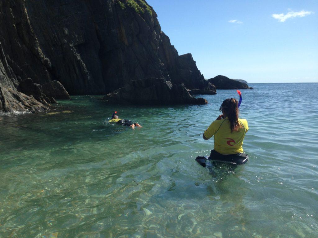 SUP Tour snorkelling Burgh Island