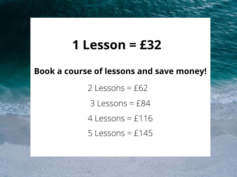 beginner surf lesson bantham surfing academy