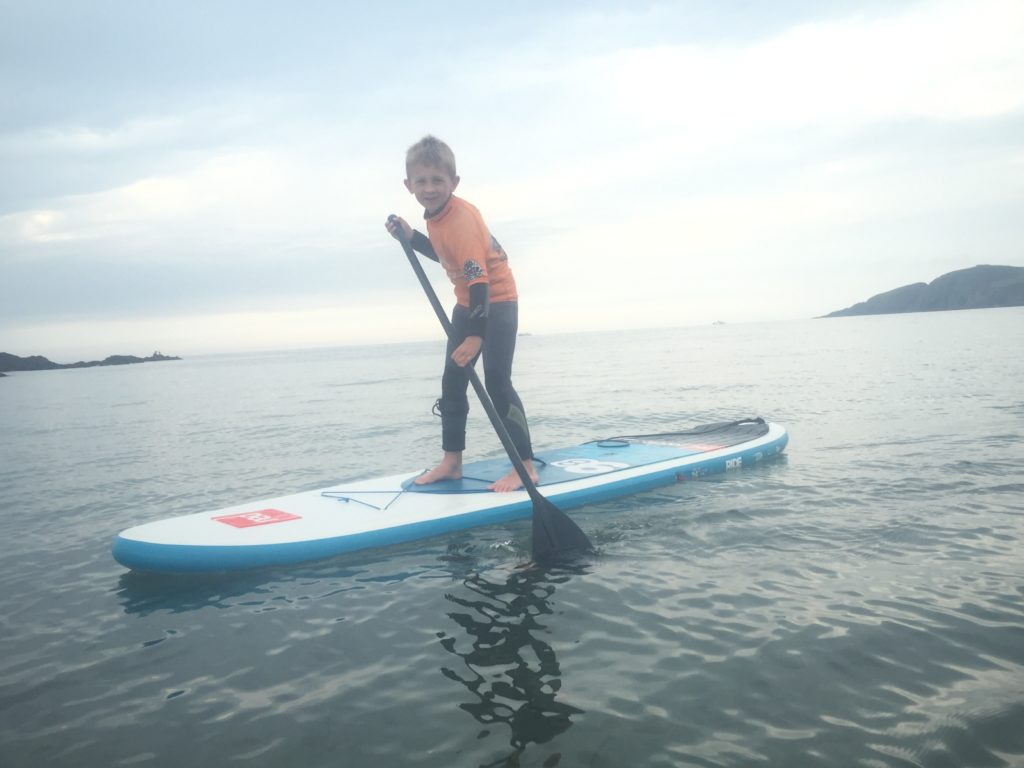 Kids Paddle Boarding Bantham