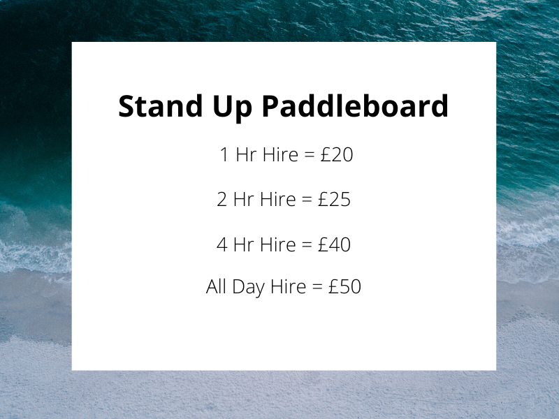 Stand Up Paddleboard Hire
